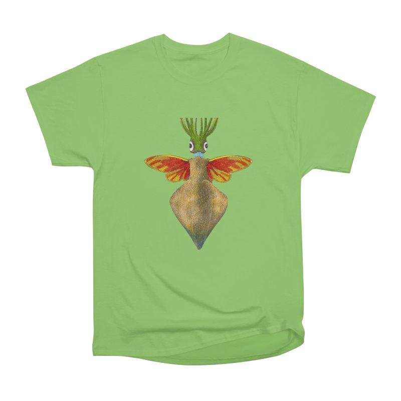 Winged Cuttlefish Men's Heavyweight T-Shirt by TeeGoo's Shop