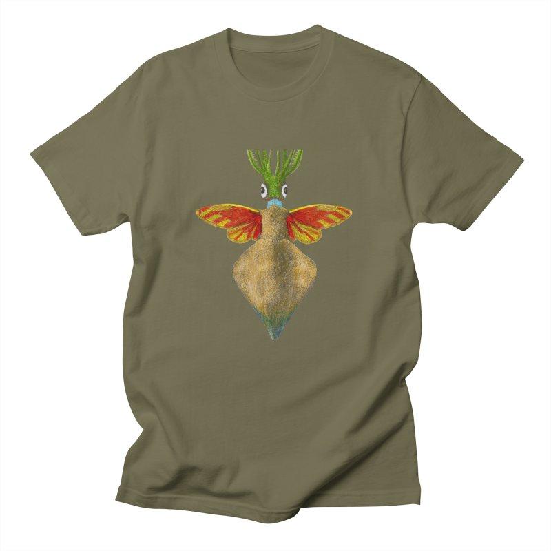 Winged Cuttlefish Men's T-Shirt by TeeGoo's Shop
