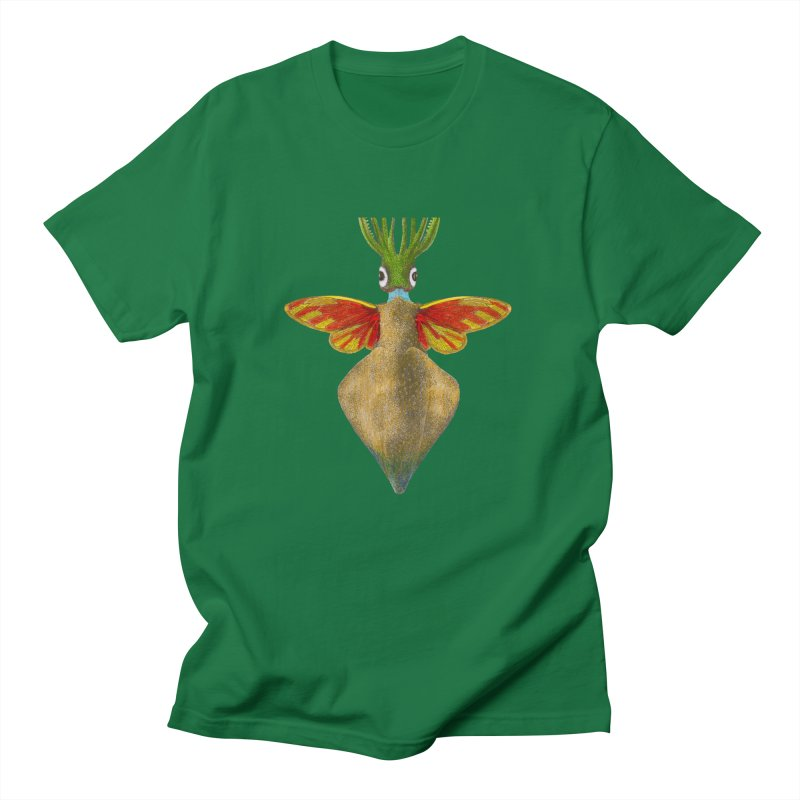 Winged Cuttlefish Men's T-Shirt by TeeGoo's Shop