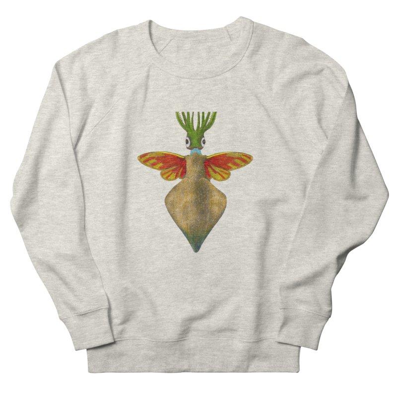 Winged Cuttlefish Men's French Terry Sweatshirt by TeeGoo's Shop