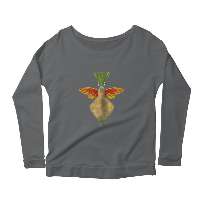 Winged Cuttlefish Women's Longsleeve T-Shirt by TeeGoo's Shop