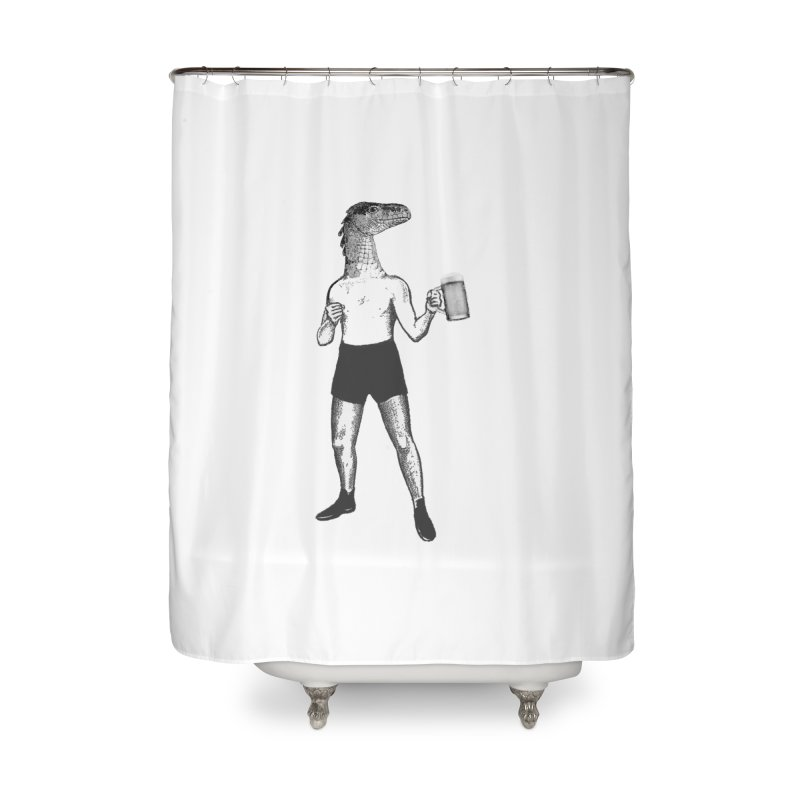 Beer Fighter Home Shower Curtain by TeeGoo's Shop