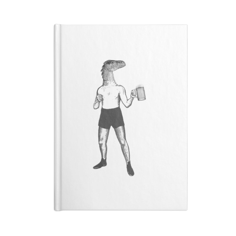 Beer Fighter Accessories Lined Journal Notebook by TeeGoo's Shop