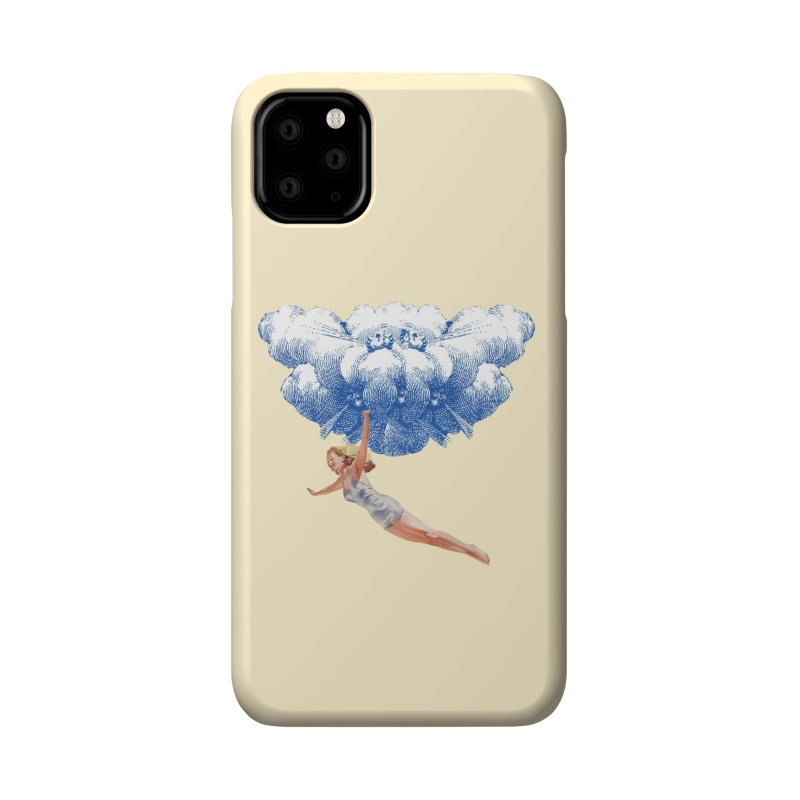 Flying Girl Accessories Phone Case by TeeGoo's Shop