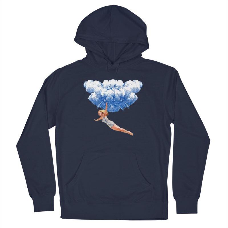 Flying Girl Men's Pullover Hoody by TeeGoo's Shop