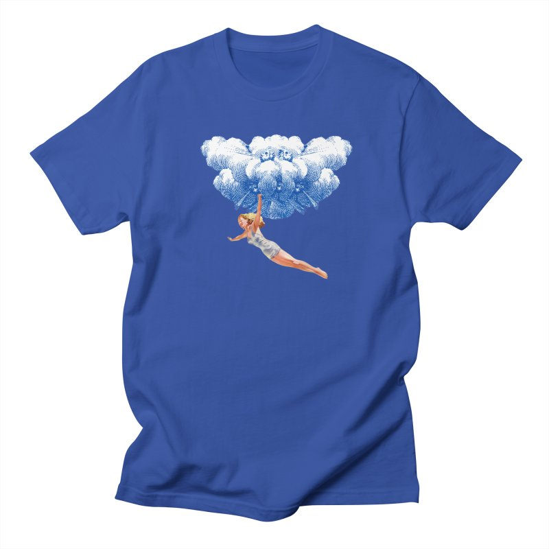 Flying Girl Women's Regular Unisex T-Shirt by TeeGoo's Shop