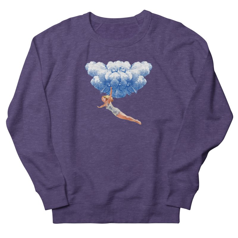 Flying Girl Women's French Terry Sweatshirt by TeeGoo's Shop