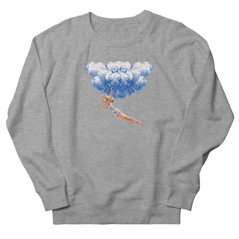Flying Girl Women's French Terry Sweatshirt by TeeGoo's Shop