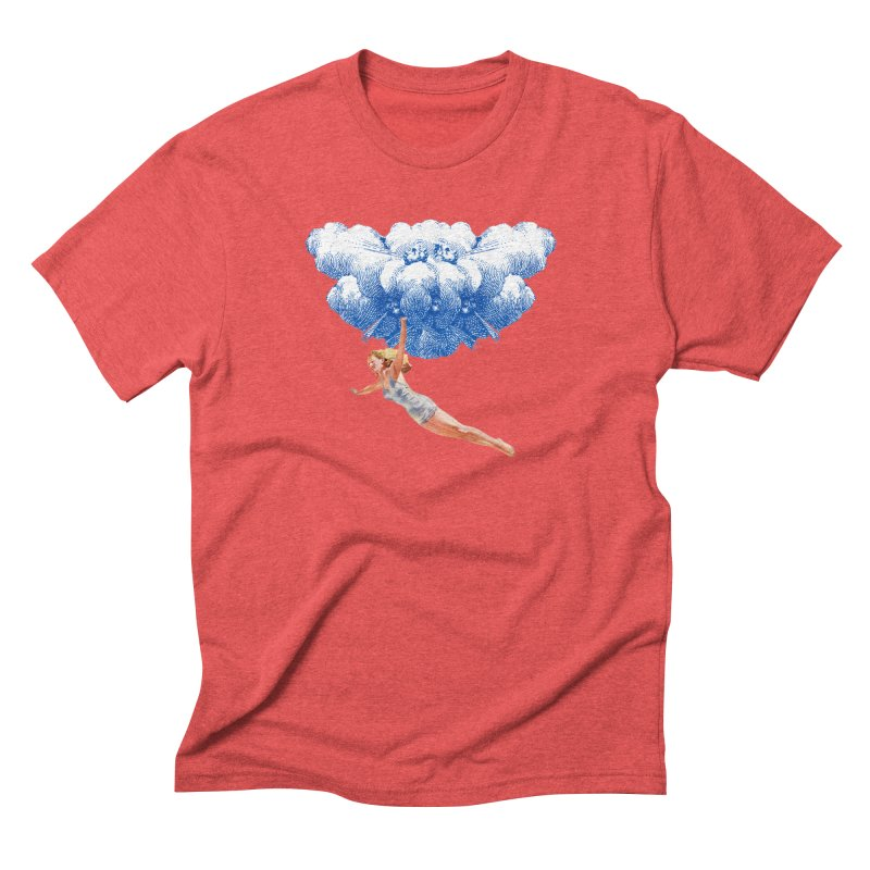 Flying Girl Men's Triblend T-Shirt by TeeGoo's Shop