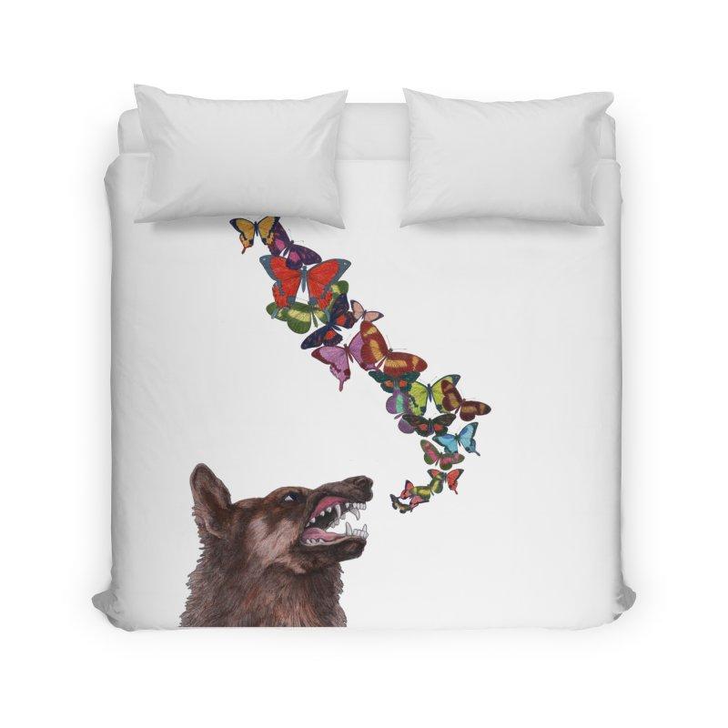 Wolfie Home Duvet by TeeGoo's Shop