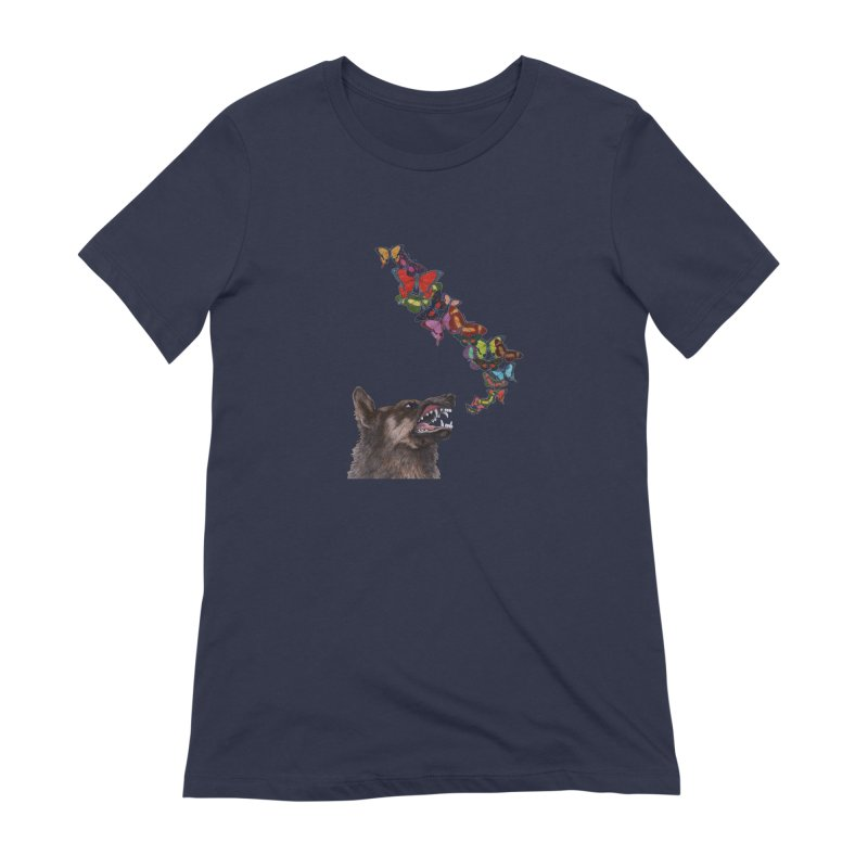 Wolfie Women's Extra Soft T-Shirt by TeeGoo's Shop