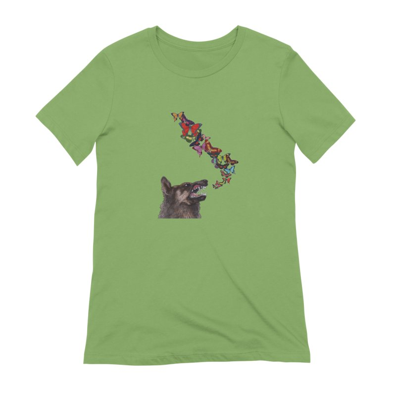 Wolfie Women's Extra Soft T-Shirt by TeeGoo's Shop
