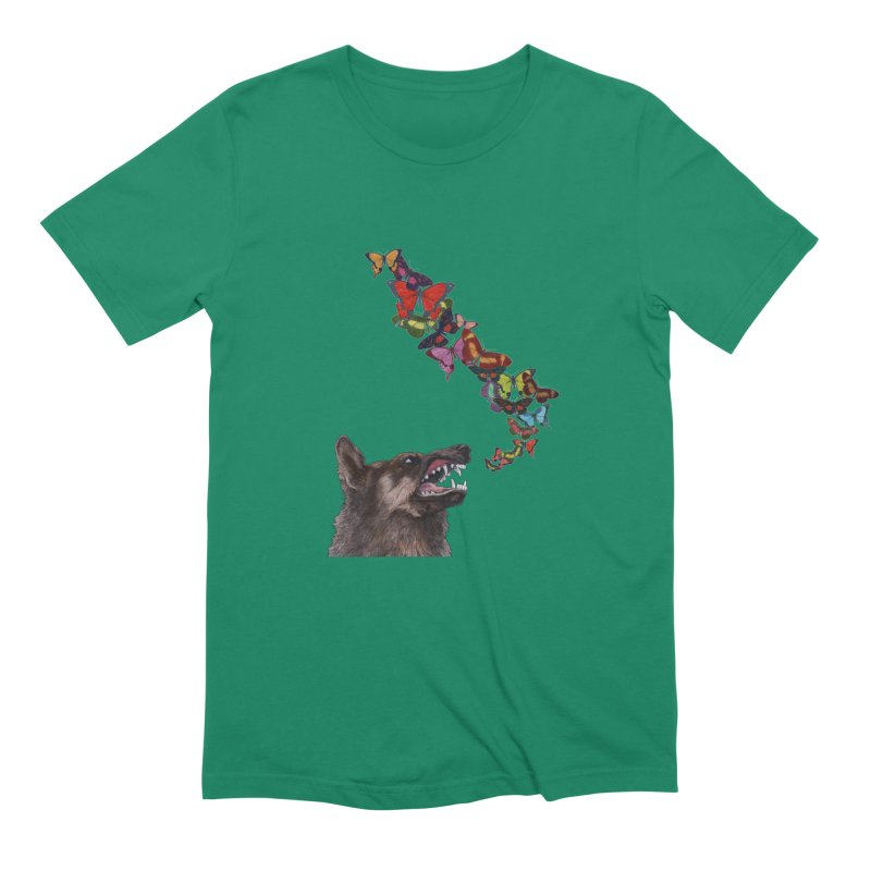 Wolfie Men's Extra Soft T-Shirt by TeeGoo's Shop