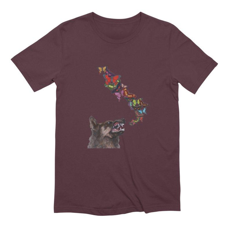 Wolfie Men's Extra Soft T-Shirt by TeeGoo's Shop