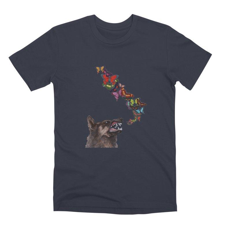 Wolfie Men's Premium T-Shirt by TeeGoo's Shop