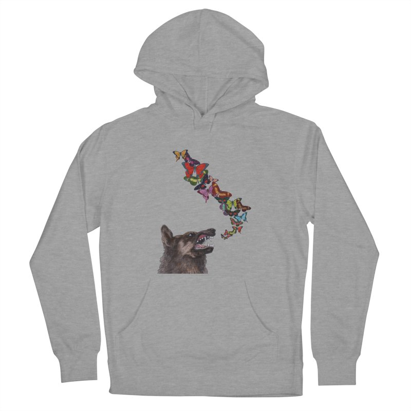 Wolfie Women's French Terry Pullover Hoody by TeeGoo's Shop
