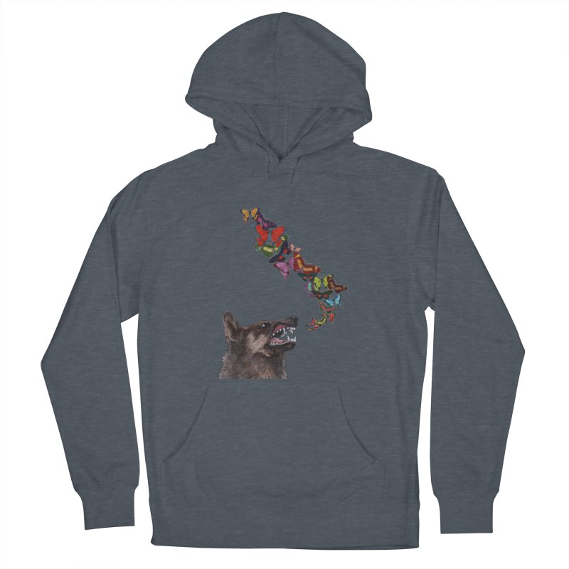 Wolfie Men's French Terry Pullover Hoody by TeeGoo's Shop