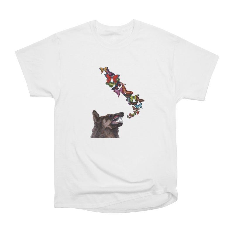 Wolfie Men's Heavyweight T-Shirt by TeeGoo's Shop