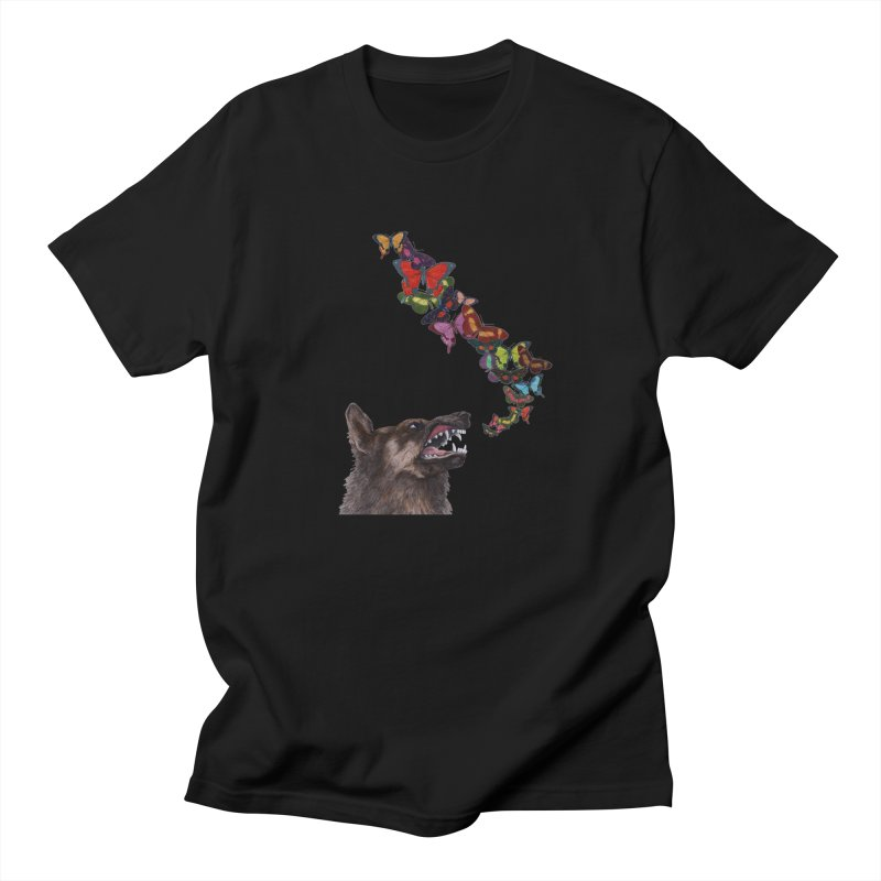 Wolfie Women's Regular Unisex T-Shirt by TeeGoo's Shop