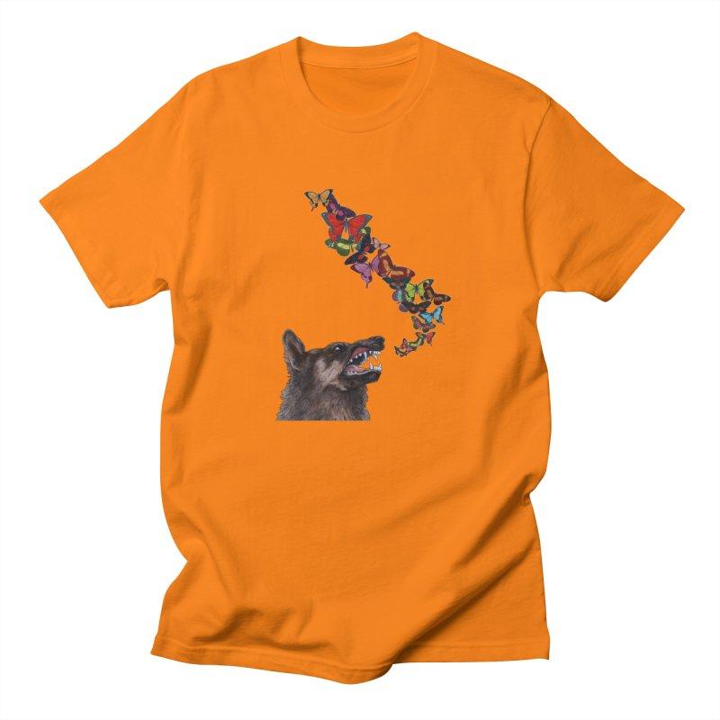 Wolfie Men's T-Shirt by TeeGoo's Shop