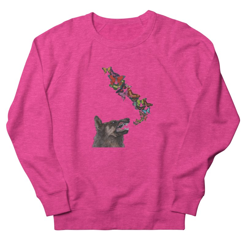 Wolfie Women's French Terry Sweatshirt by TeeGoo's Shop