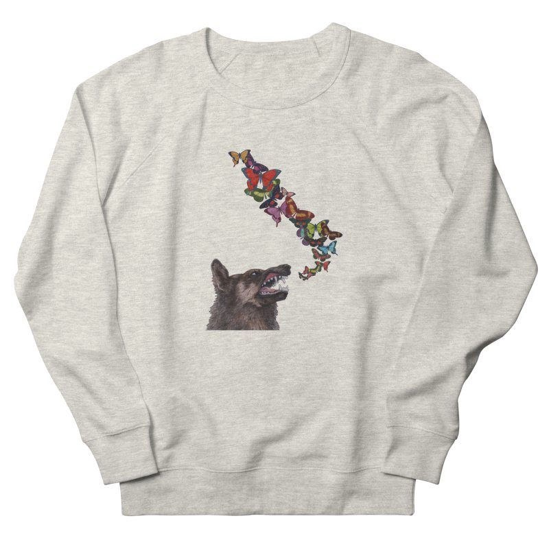 Wolfie Men's French Terry Sweatshirt by TeeGoo's Shop
