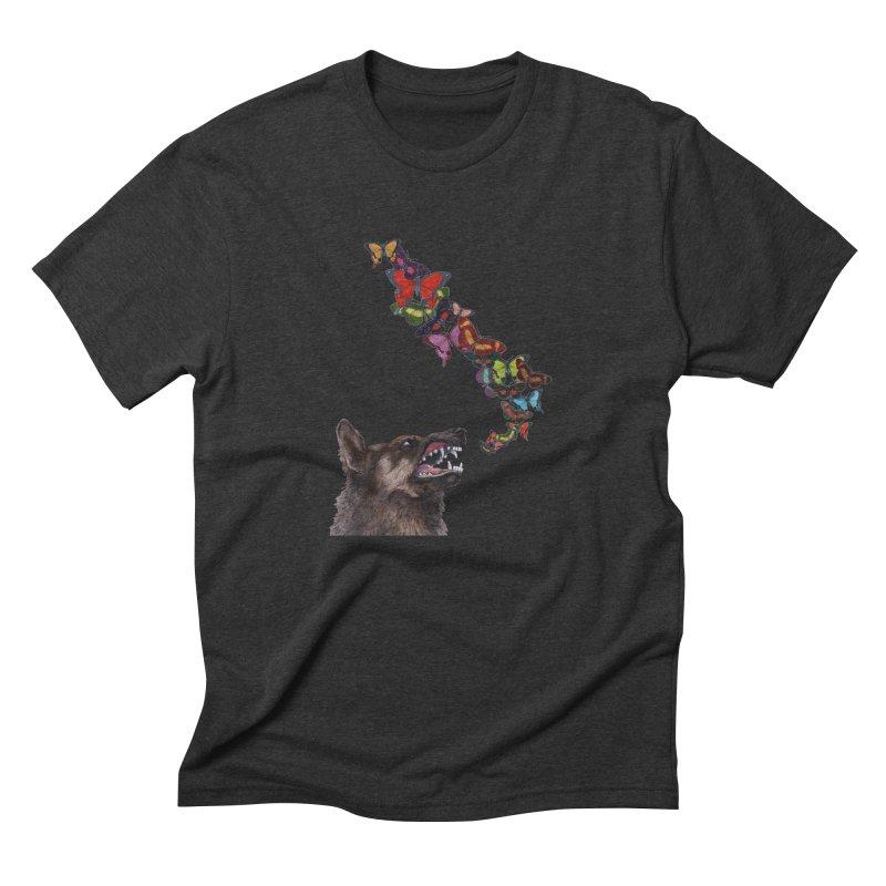 Wolfie Men's Triblend T-Shirt by TeeGoo's Shop