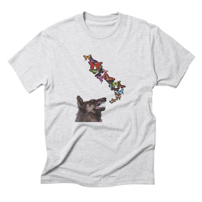 Wolfie Men's Triblend T-Shirt by TeeGoo's Shop