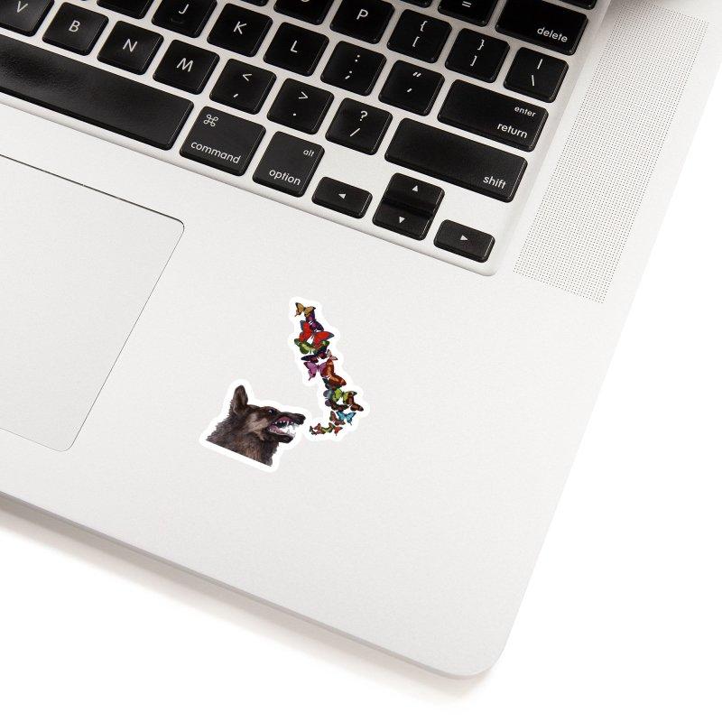 Wolfie Accessories Sticker by TeeGoo's Shop