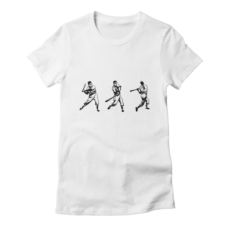 Swing Women's Fitted T-Shirt by TeeGoo's Shop
