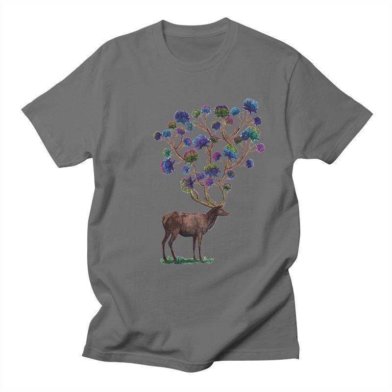 DeerFlowerAntlers Women's T-Shirt by TeeGoo's Shop