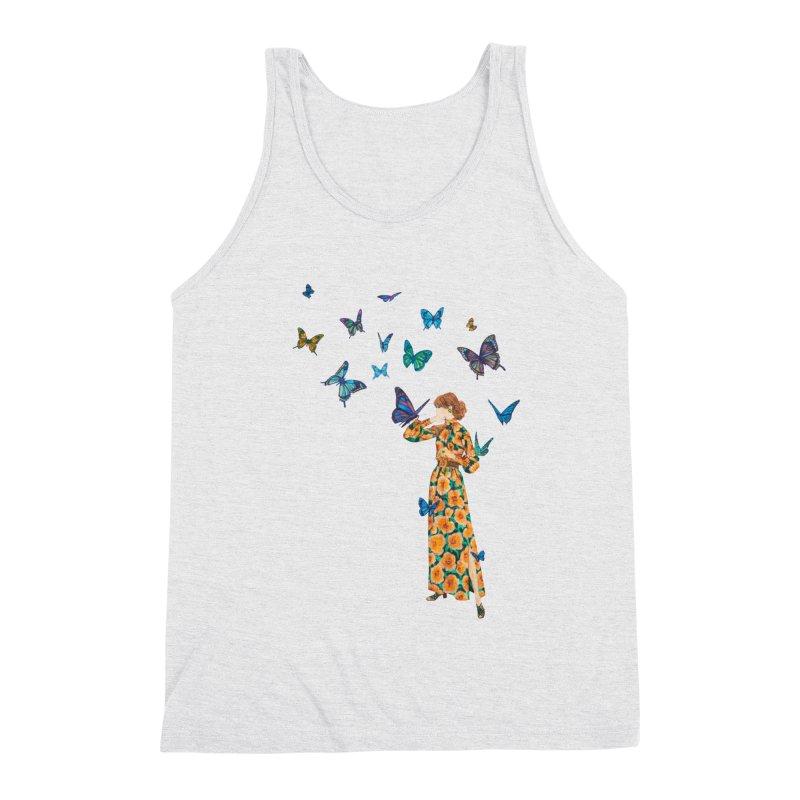 Butterfly Lady Men's Tank by TeeGoo's Shop
