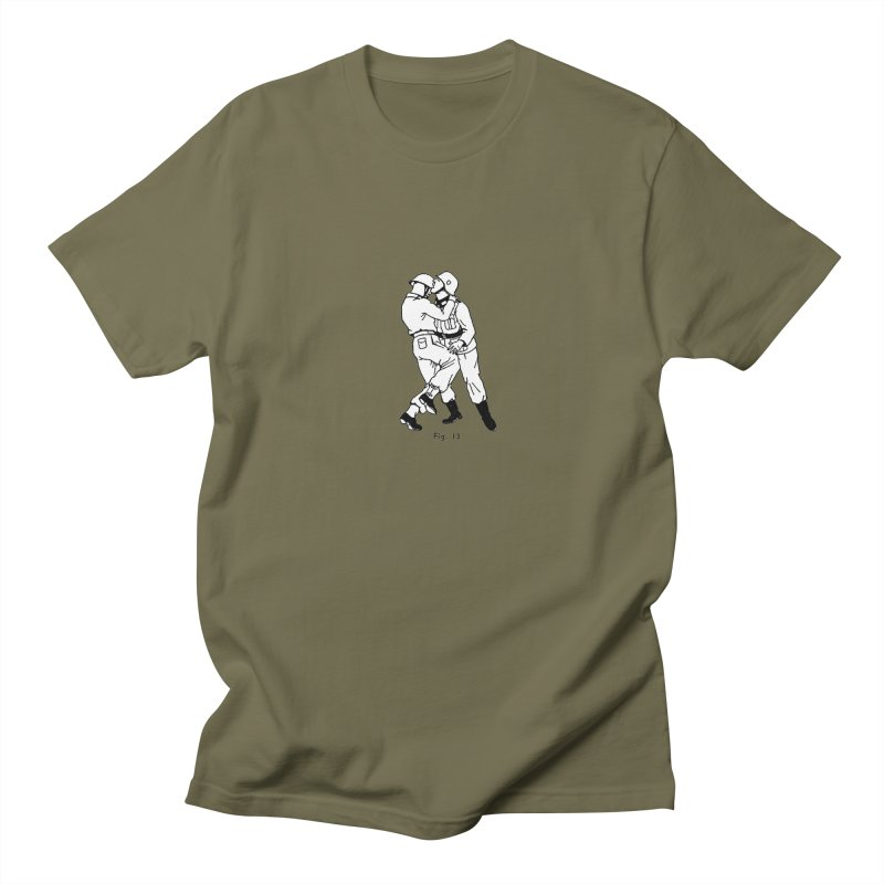 Love and War in Men's Regular T-Shirt Olive by TeeGoo's Shop