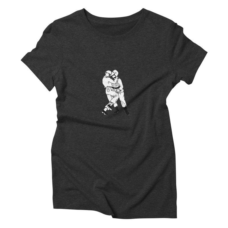 Love and War Women's Triblend T-Shirt by TeeGoo's Shop
