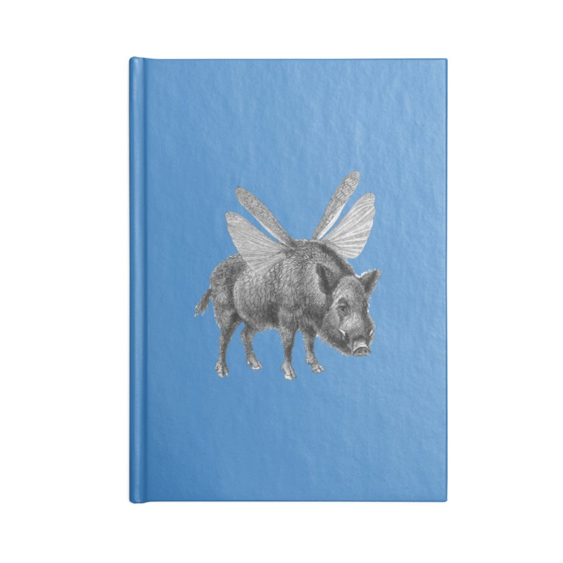 When Pigs Fly Accessories Blank Journal Notebook by TeeGoo's Shop
