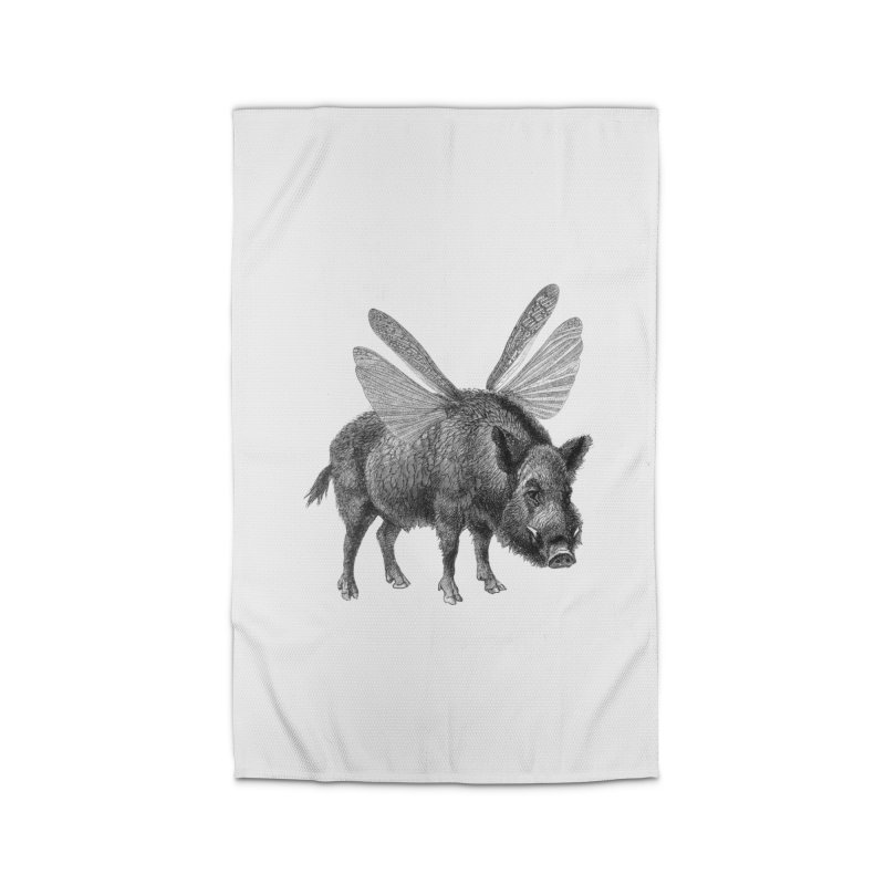 When Pigs Fly Home Rug by TeeGoo's Shop