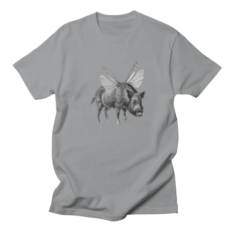 When Pigs Fly Men's Regular T-Shirt by TeeGoo's Shop