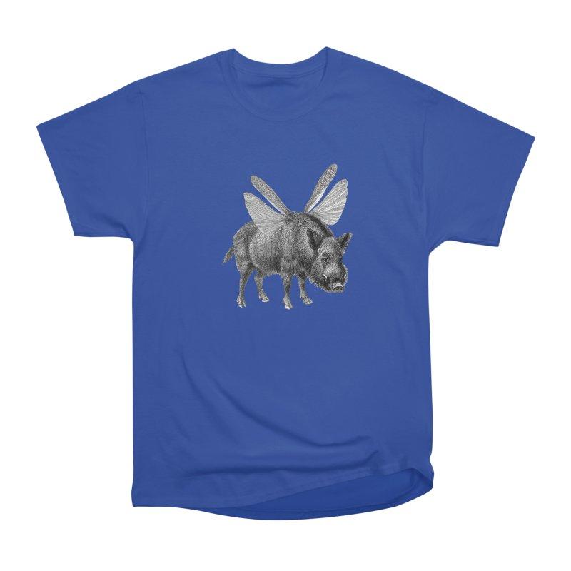 When Pigs Fly Men's Heavyweight T-Shirt by TeeGoo's Shop
