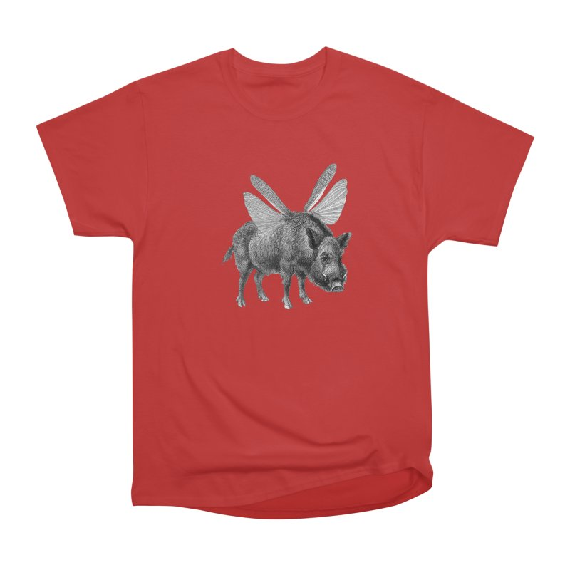 When Pigs Fly Women's Heavyweight Unisex T-Shirt by TeeGoo's Shop