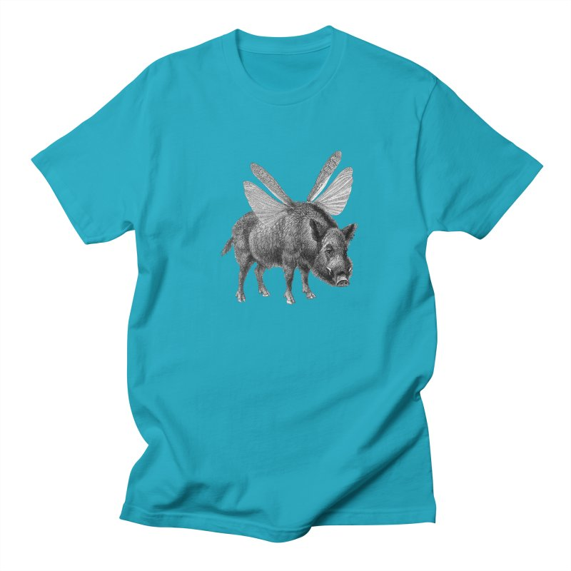 When Pigs Fly Women's Regular Unisex T-Shirt by TeeGoo's Shop