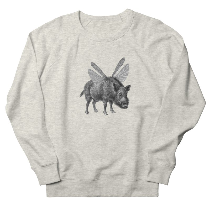 When Pigs Fly Women's French Terry Sweatshirt by TeeGoo's Shop