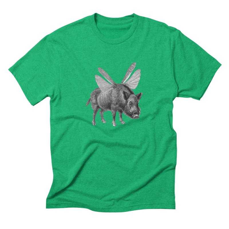 When Pigs Fly Men's Triblend T-Shirt by TeeGoo's Shop