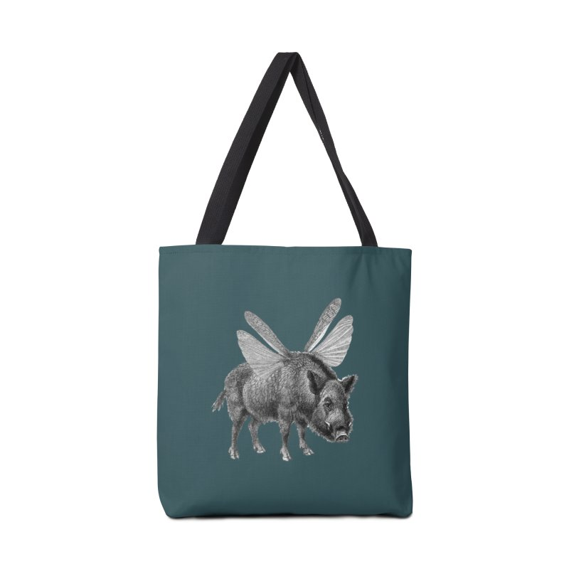 When Pigs Fly Accessories Tote Bag Bag by TeeGoo's Shop