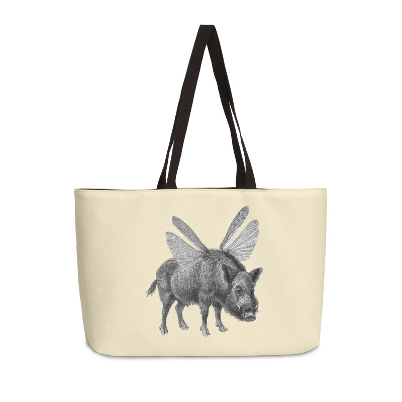 When Pigs Fly Accessories Weekender Bag Bag by TeeGoo's Shop