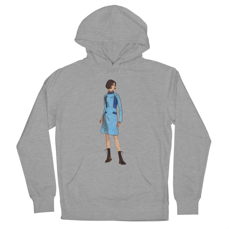 Mod Girl in Combat Boots Women's Pullover Hoody by TeeGoo's Shop