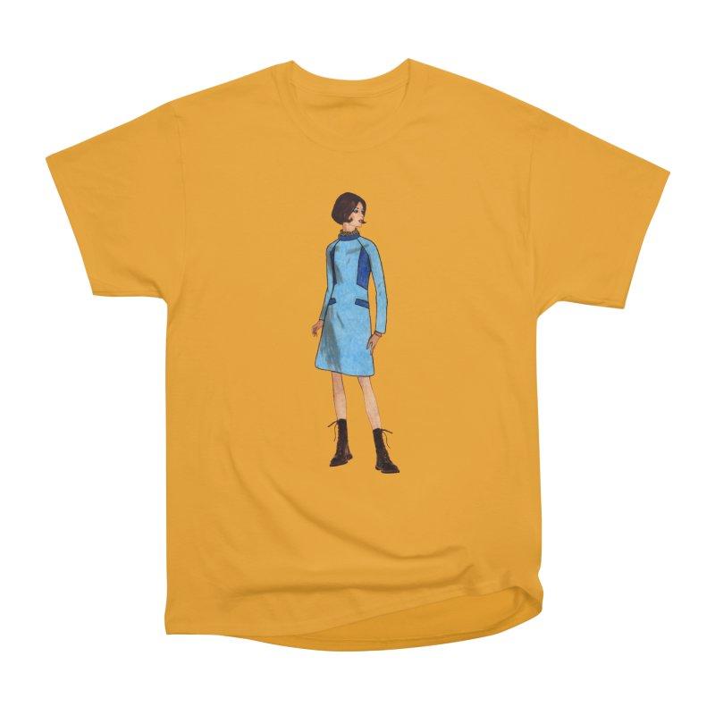 Mod Girl in Combat Boots Men's Heavyweight T-Shirt by TeeGoo's Shop