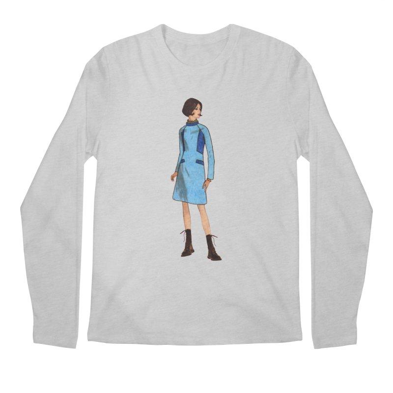 Mod Girl in Combat Boots Men's Regular Longsleeve T-Shirt by TeeGoo's Shop