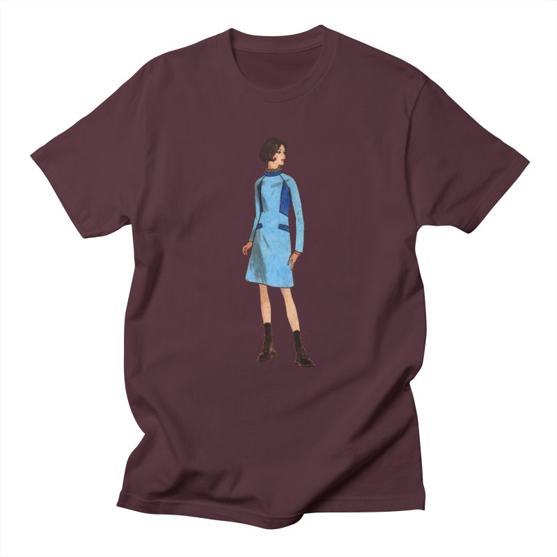 Mod Girl in Combat Boots Men's Regular T-Shirt by TeeGoo's Shop