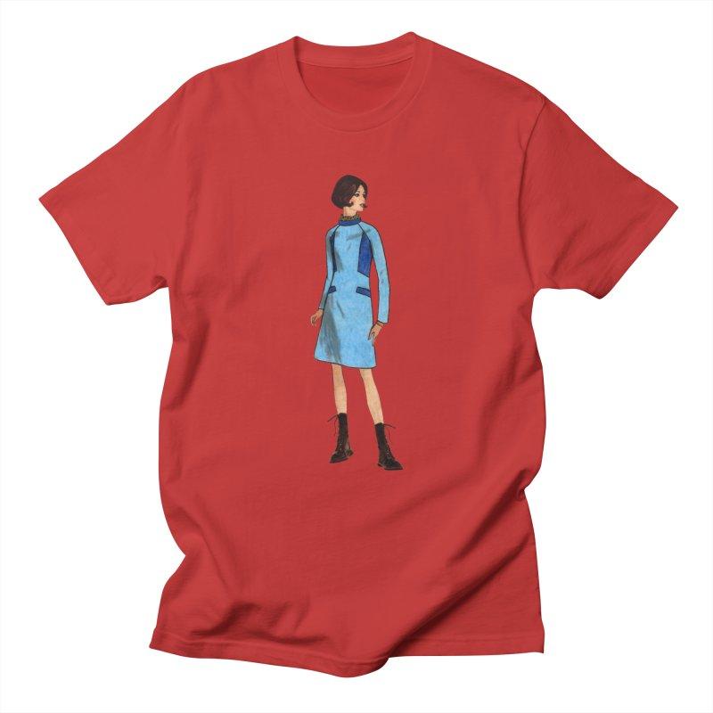 Mod Girl in Combat Boots Women's Regular Unisex T-Shirt by TeeGoo's Shop
