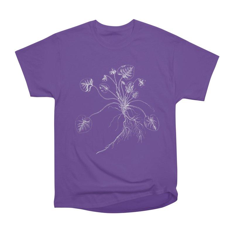 March Violet Women's Heavyweight Unisex T-Shirt by TeeGoo's Shop